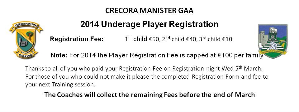 Flyer - Underage Registration 2014 v1