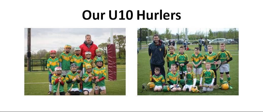 Our U10 hurlers 20140425
