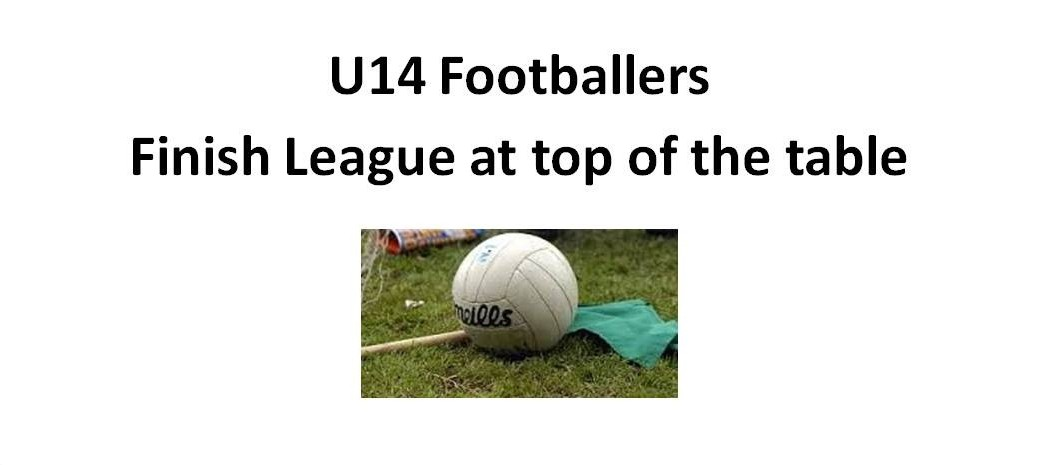 U14 top league