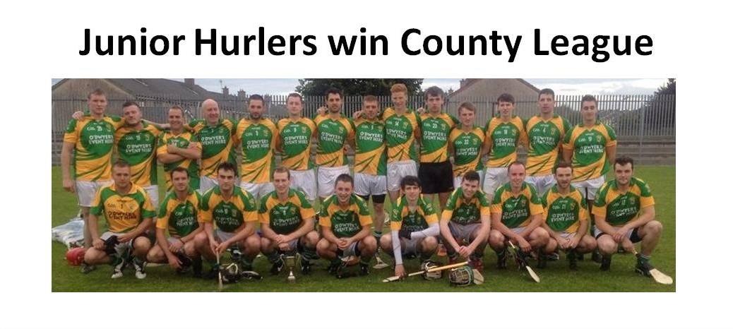 Junior Hurlers win County League