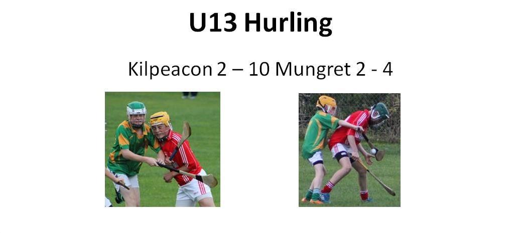 U13 Hurling vs Mungret