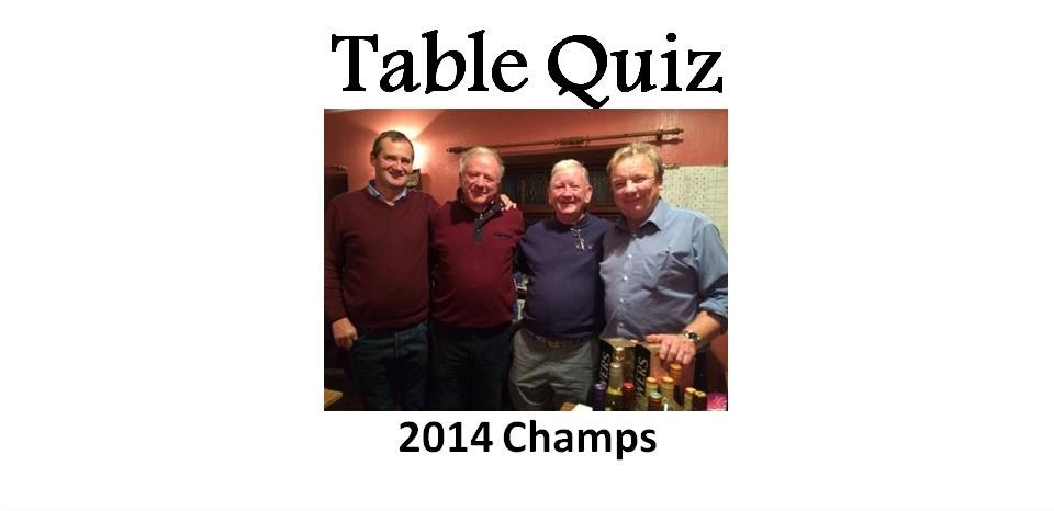 Table Quiz Champs