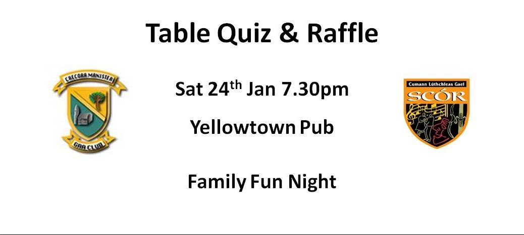 Scor Table Quiz