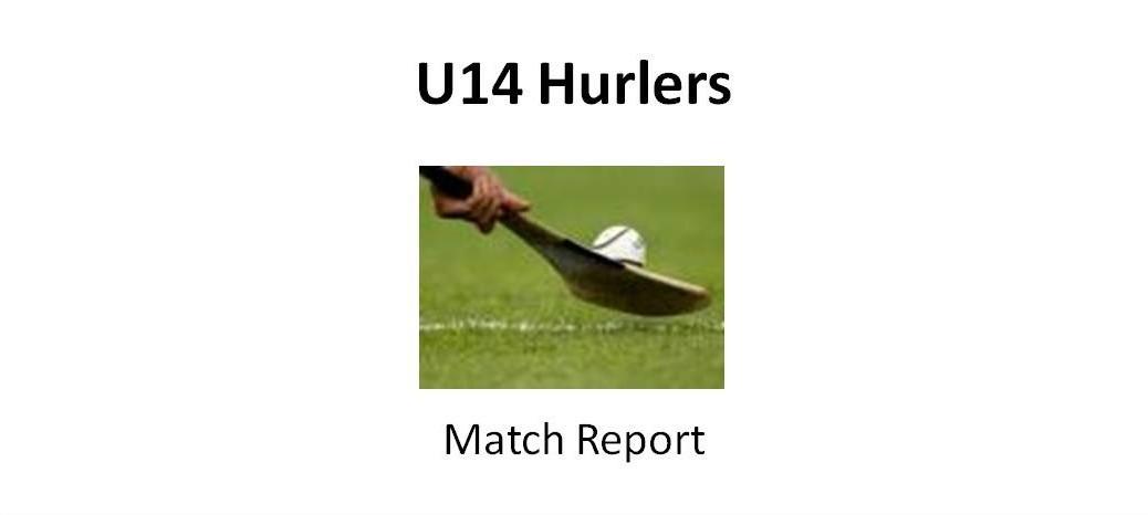 U14 hurlers match report