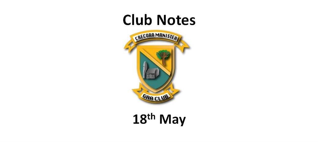 Club Notes 18 May