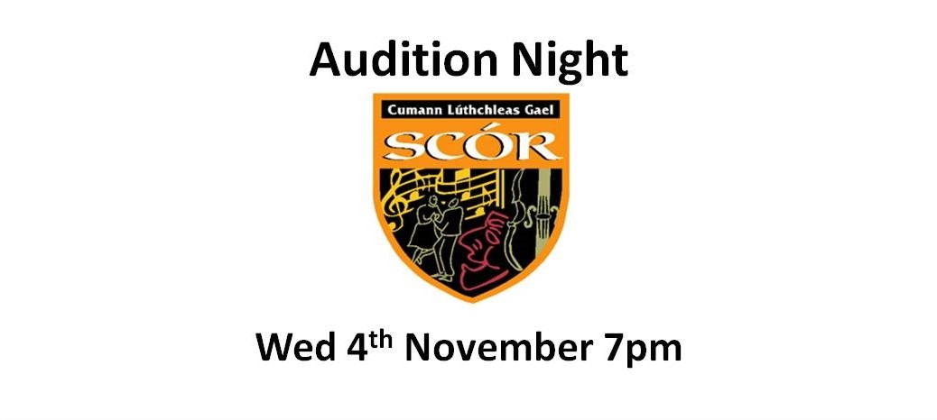Scor - local parish audition night 2015