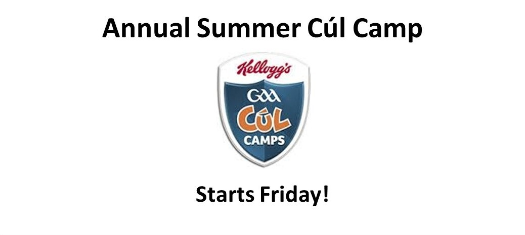 Cul Camp 2016 - Starts Friday