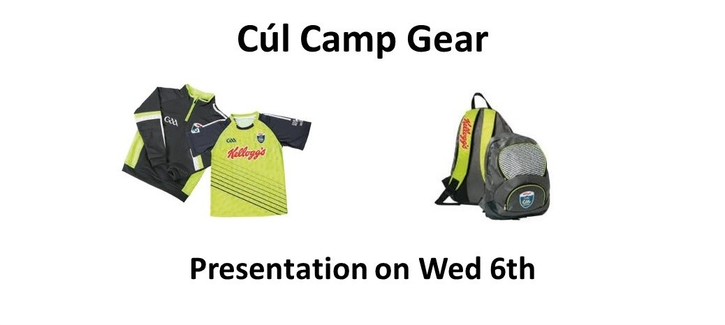 Cul Camp 2016 - Present the gear