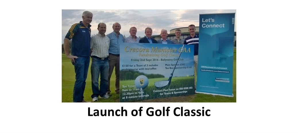 Launch of Golf Classic