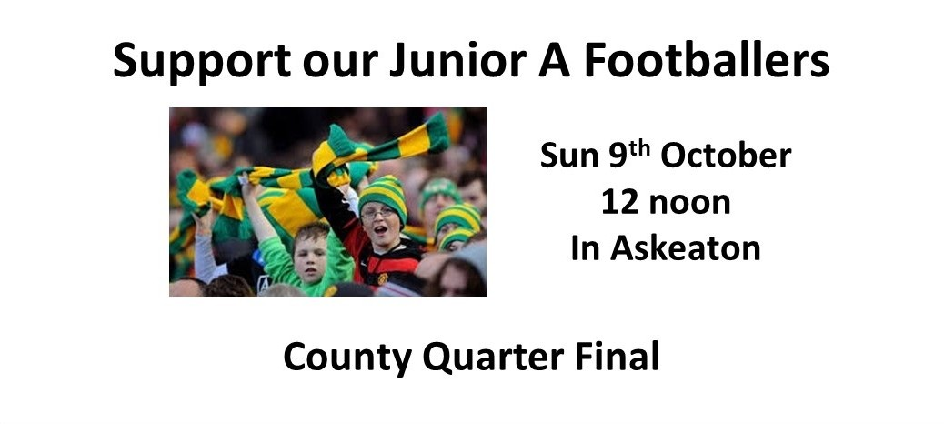 Junior A Football County Quarter Final