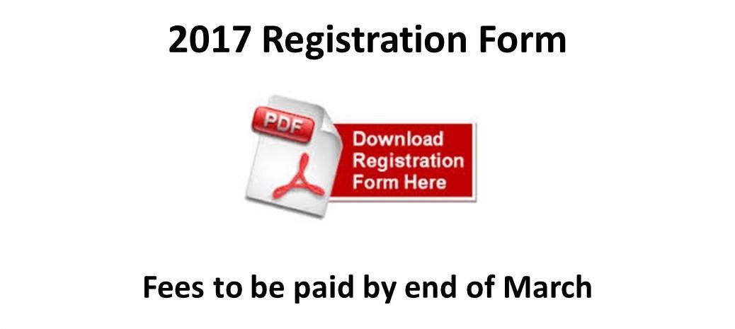 2017 Registrations