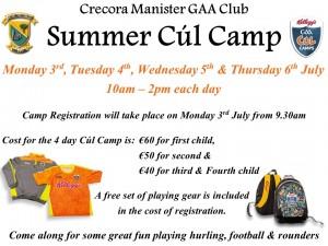 Cul Camp Poster 2017