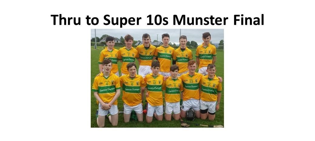 Under 15 Super 10s