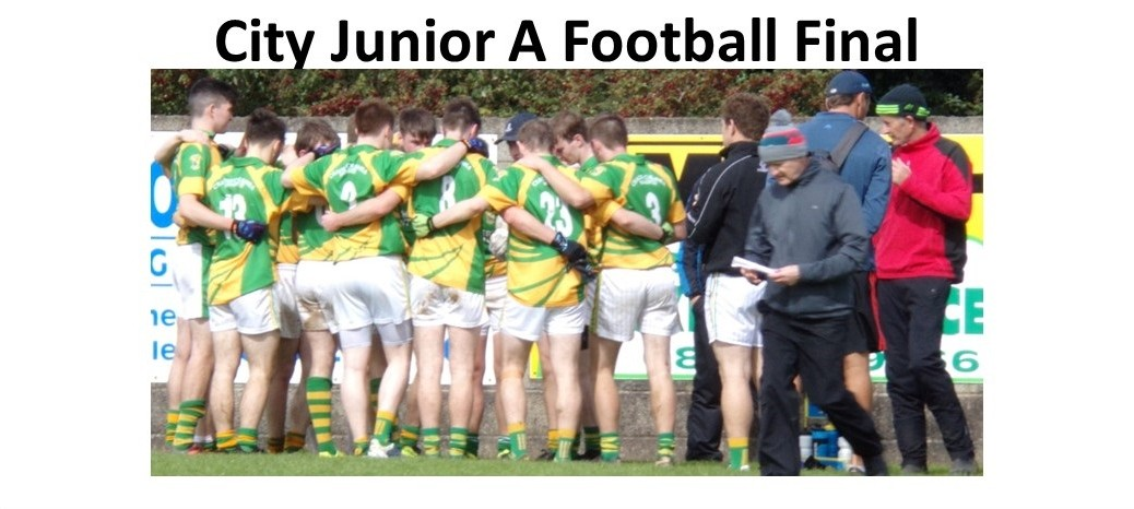 Match Report from Junior A Football City Final