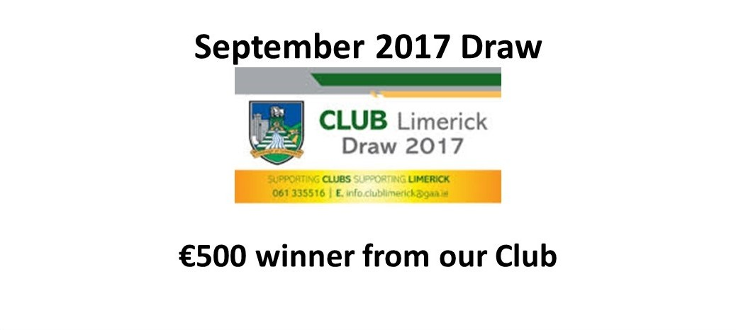 Dev Draw Winner Sept 2017