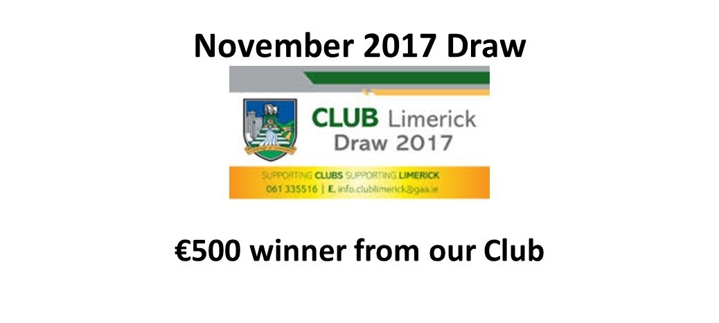 Dev Draw Winner Nov 2017