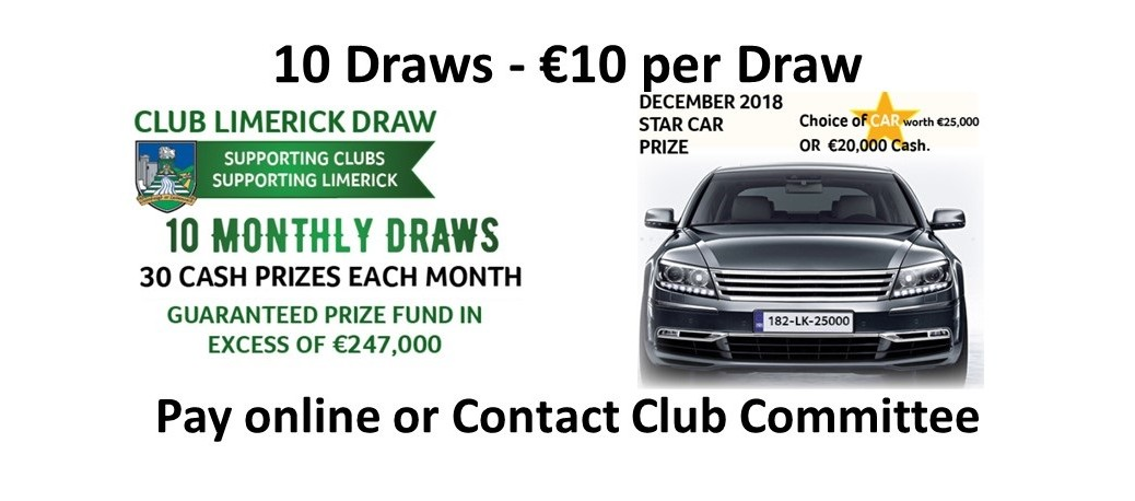 Club Limerick Draw 2018