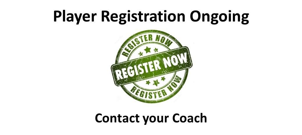 Player Registration 2018