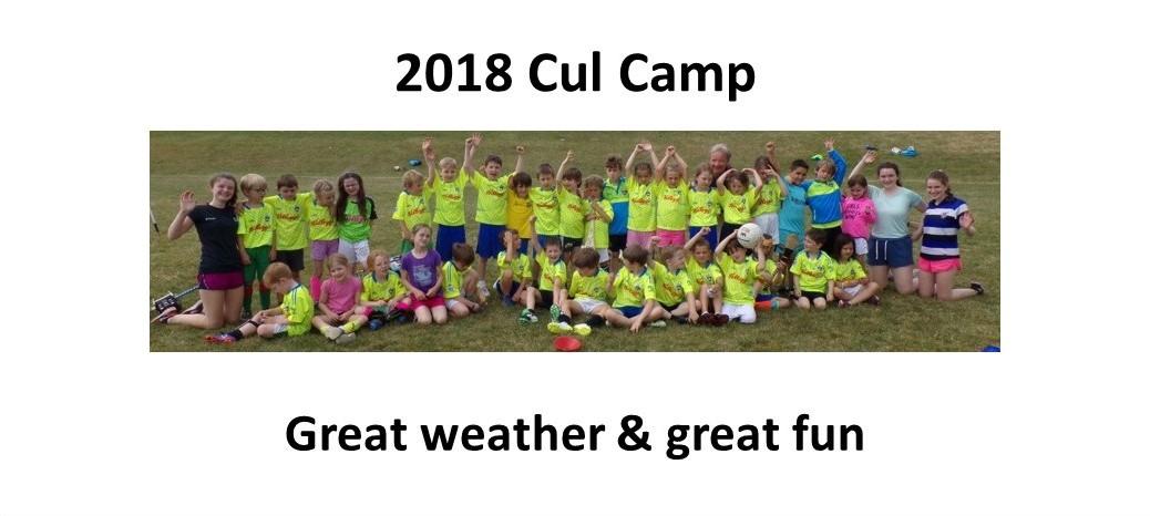 Cul Camp 2018 - photos