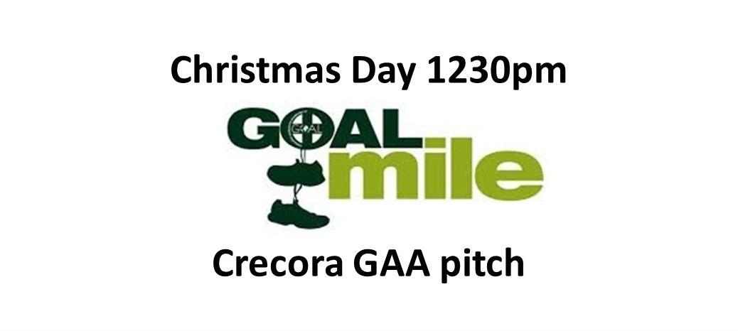 Goal Mile Website