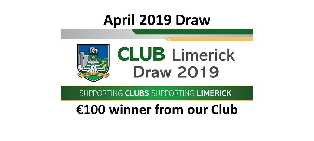 Club Draw April 2019