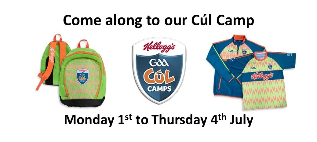 Come along to our Cul Camp 2019