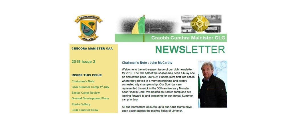 Newsletter Issue 2019 2