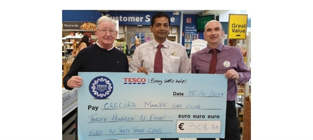 Tesco Community Fund - Cheque