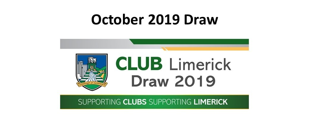 Club Draw October 2019
