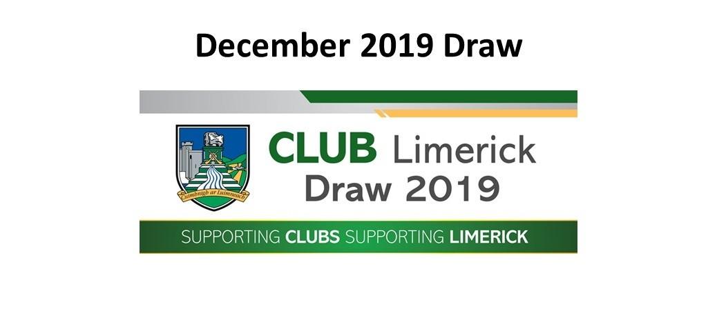 Club Draw December 2019