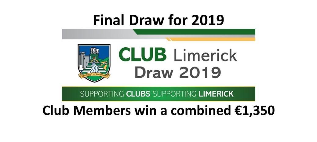 Club Draw January 2020