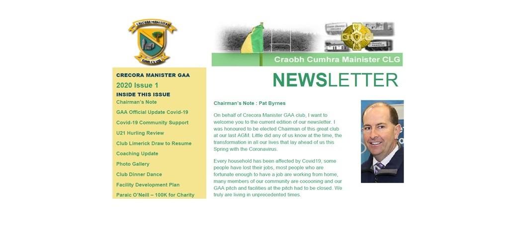 Newsletter Issue 2020 1