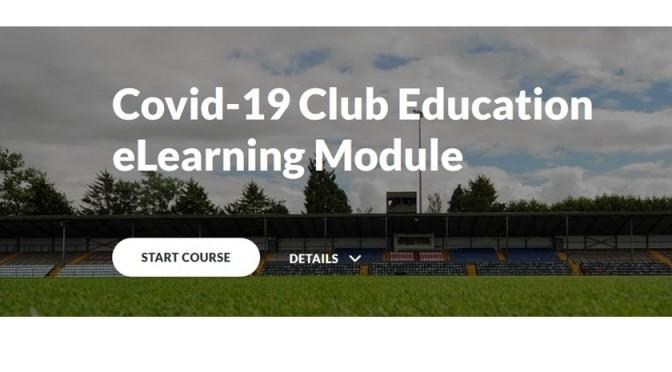 COVID-19 Club Education eLearning Module