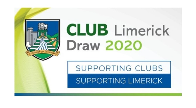 Club Draw July 25th 2020