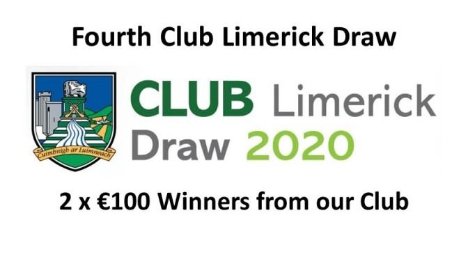 Fourth Club Draw 2020