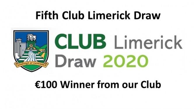 Fifth Club Draw 2020