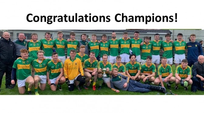 Junior A Football County Champions